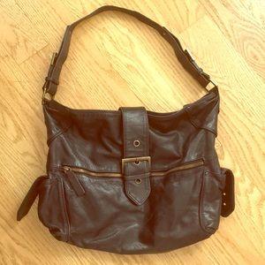 MAX&Co. Black Shoulder Leather Bag